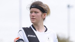 Caitlyn Smith hopes the scholarship can kickstart her career as a professional footballer