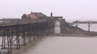 The pier was opened in 1867 but has since fallen into disrepair