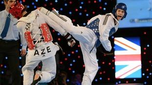 Taekwondo star Aaron Cook.