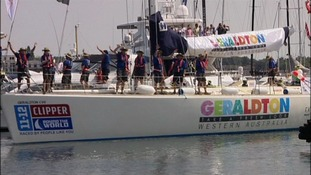 one of 10 UK-registered 68ft yachts competing in the Clipper Round The World Yacht Race