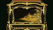 Desk sold at London auction.