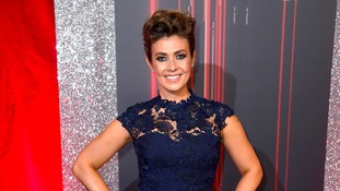 Kym Marsh gives moving speech as she scoops soap award