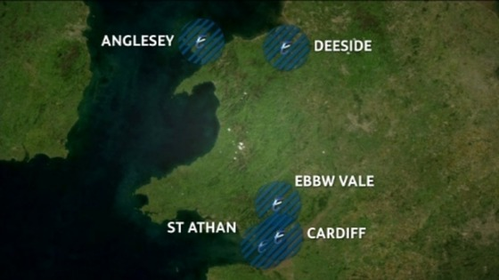 Enterprise zones in Wales