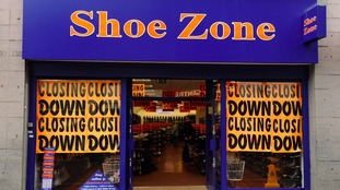 Shoe Zone's profits fall by 84%