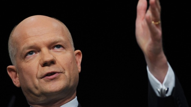 William Hague Syria