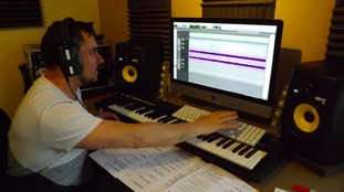 The song is being produced in a home studio in Gateshead