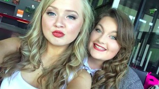 Chloe Rutherford and Amy Ridley