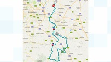 The cyclists will pedal 151km through Warwickshire towns and villages