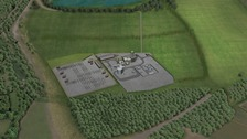 What a proposed power station in Bedfordshire might look like