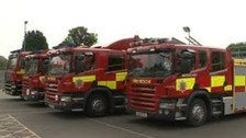 A dog is thought to have started a house fire in Braintree