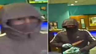 CCTV images released after armed robbery in Worle
