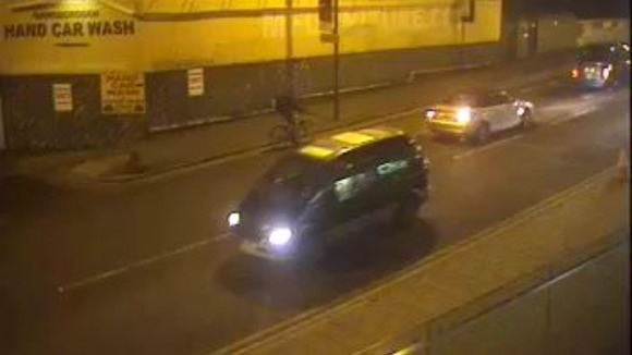 CCTV of vehicle after fatal collision