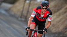 ustralian Richie Porte posted a winning time of 28 minutes and seven seconds.