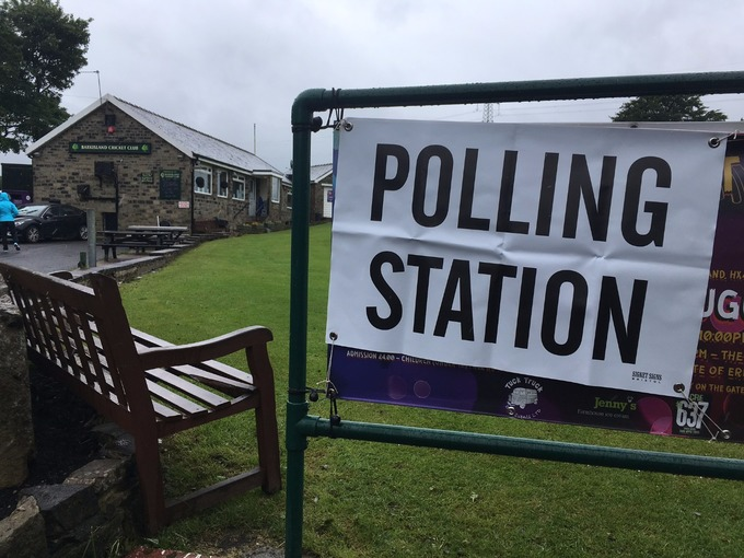 Polling stations now open for business