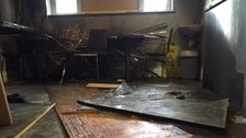 Faith leaders come together after 'anti-Semitic' arson attack