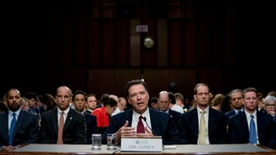 Mr Comey said he was concerned Mr Trump might lie about their meetings.
