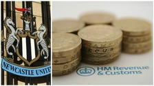 Newcastle United has launched a legal challenge over a raid by HMRC