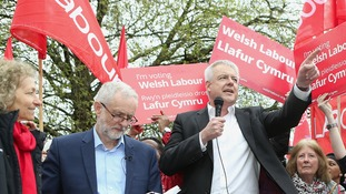 Labour hopes of Welsh gains boosted by exit poll