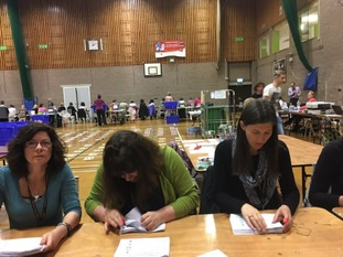Counting has started in Cornwall