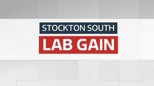 Labour has gained Stockton South