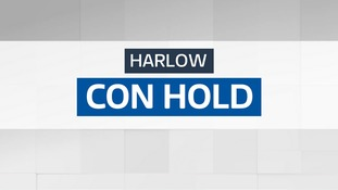 The Conservatives have held Harlow.