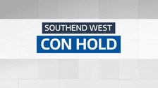 The Conservatives have held Southend West.
