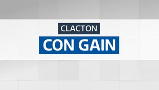 The Conservatives have taken the Clacton seat from UKIP.
