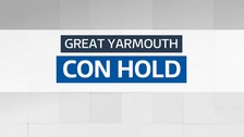 he Conservatives have held Great Yarmouth.