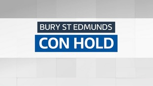 The Conservatives have held Bury St Edmunds.