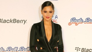 Cheryl Cole at the Jingle Bell Ball in London.