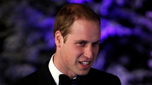 The Duke of Cambridge at the Winter Whites Gala held at the Royal Albert Hall, London.