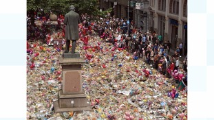 Work to sensitively relocate tributes from St Ann's Square to start this evening
