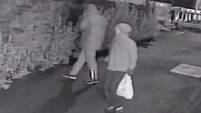 Police have released images in relation to the arson attacks