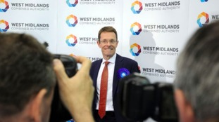 West Midlands metro mayor Andy Street