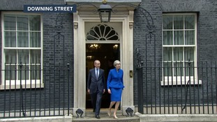 Theresa May leaves Number 10