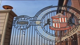 Football stadium gates