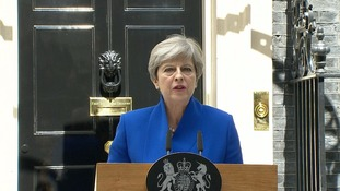 Speaking on Downing Street