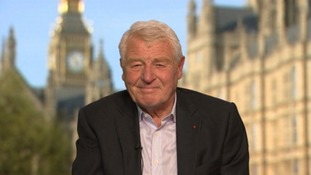 Paddy Ashdown: Theresa May has been given a 'resounding raspberry' by the country