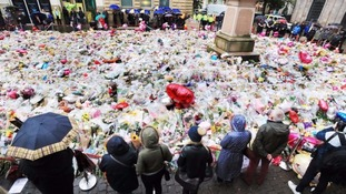Tributes left to the victims of the attack