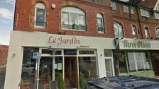 Le Jardin restaurant on Grange Road in West Kirby