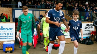 Anton Ferdinand captained Southend last season.