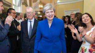 Theresa May will lead a minority government