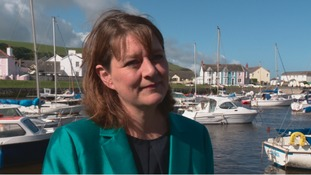 """Not too bad a result"" says Plaid leader Leanne Wood"