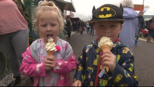 Sunshine and showers at the Royal Cornwall Show