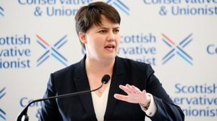 Ruth Davidson today