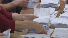 Voting count underway