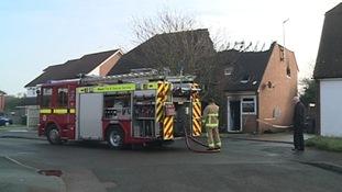 East Peckham, Kent, fire