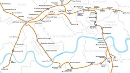 London Overground map