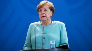 Angela Merkel expects Brexit talks to begin 'within days'