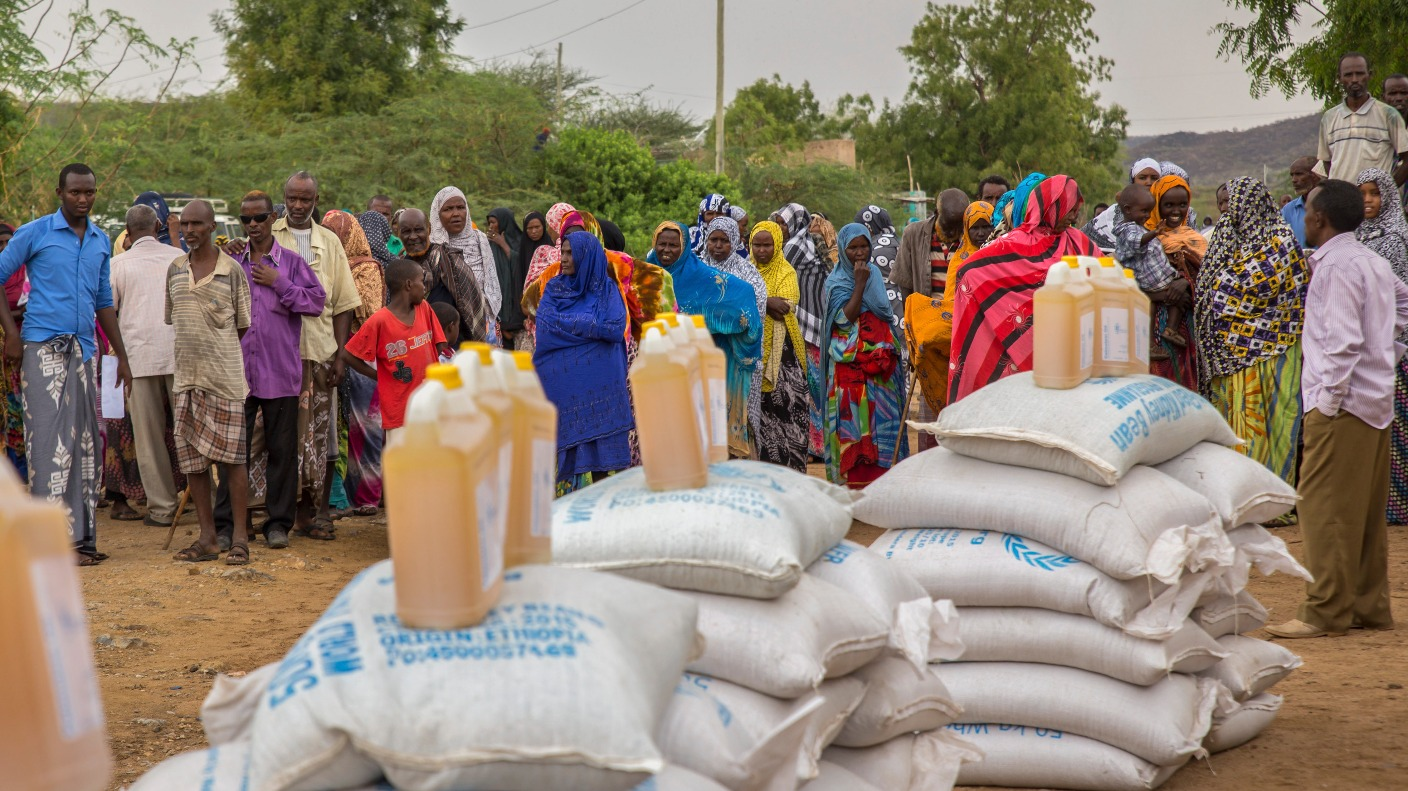 ethiopia warns drought emergency food aid is running out